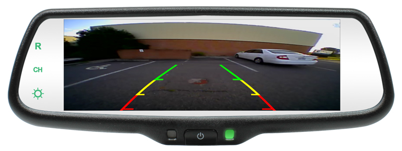 Rearview Mirror With 7 3 Inch Lcd Screen Now Available